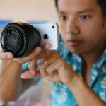 QX100 は iPhone が使えない?レンズスタイルカメラを本気で考えてみた。
